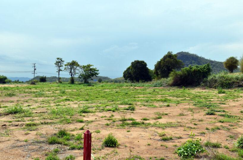 Mountain view land for sale pranburi