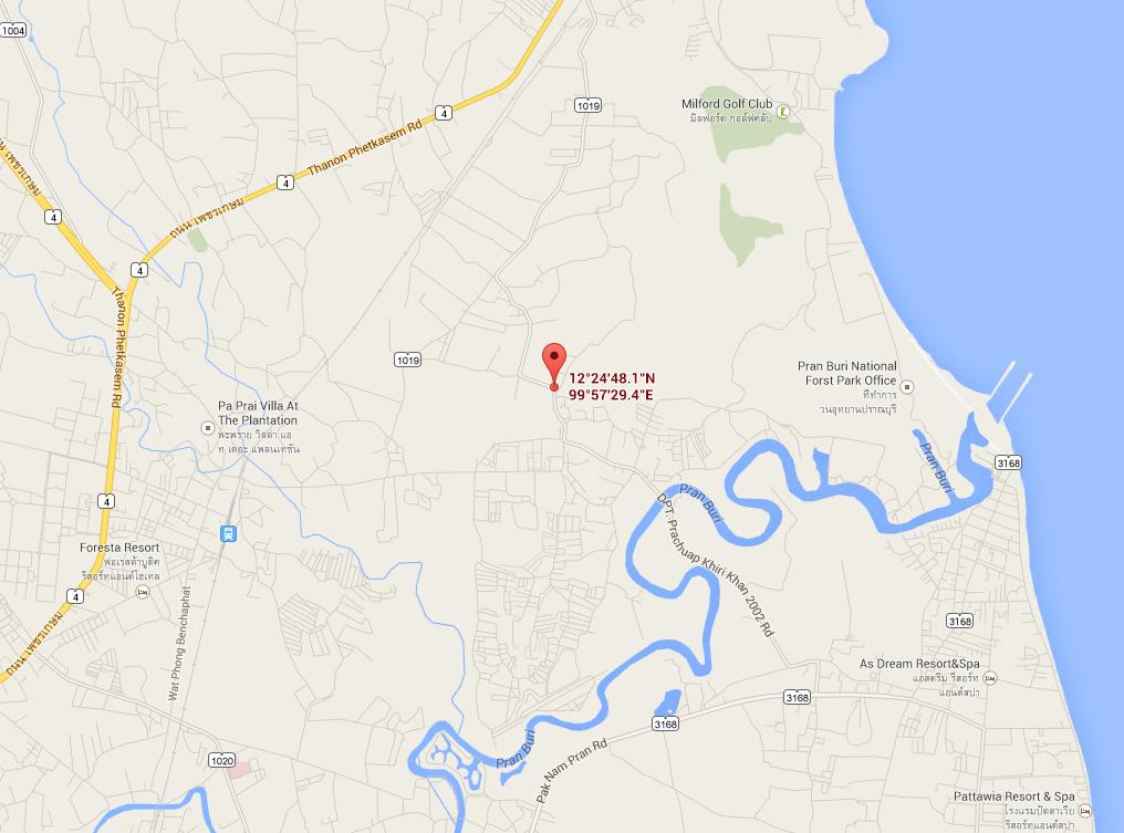 Map to corner land